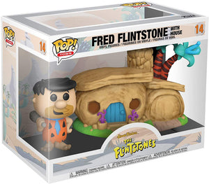 Pop Television The Flintstone 3.75 Inch Action Figure - Fred Flintstone with House #14