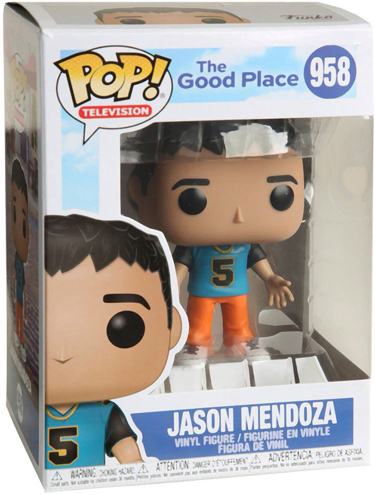 Pop Television 3.75 Inch Action Figure The Good Place - Jason Mendoza #958