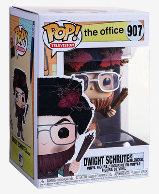 Pop Television The Office 3.75 Inch Action Figure - Dwight Schrute as Belsnickel #907