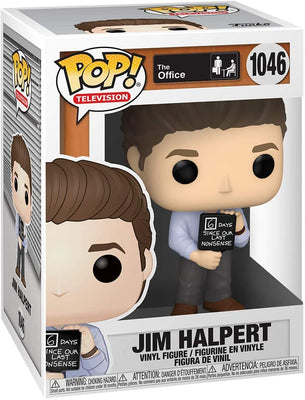 Pop Television The Office 3.75 Inch Action Figure - Jim Halpert #1046