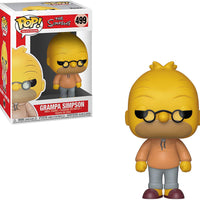 Pop Television 3.75 Inch Action Figure The Simpsons - Grampa Simpson #499