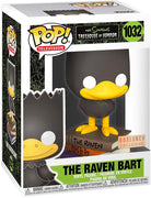 Pop Television The Simpsons 3.75 Inch Action Figure - The Raven Bart #1032