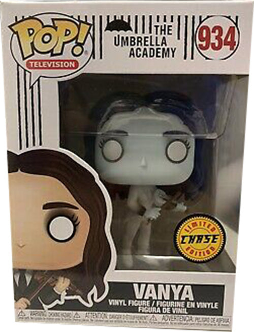 Pop Television 3.75 Inch Action Figure The Umbrella Academy - Vanya #934 Chase