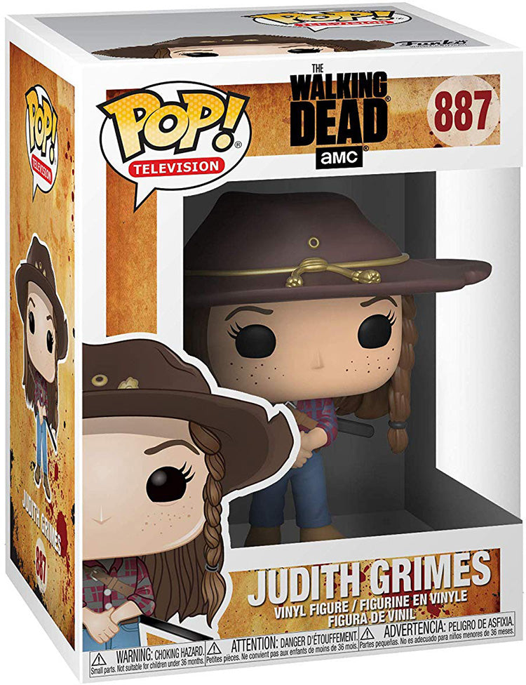 Pop Television 3.75 Inch Action Figure The walking Dead - Judith Grimes #887