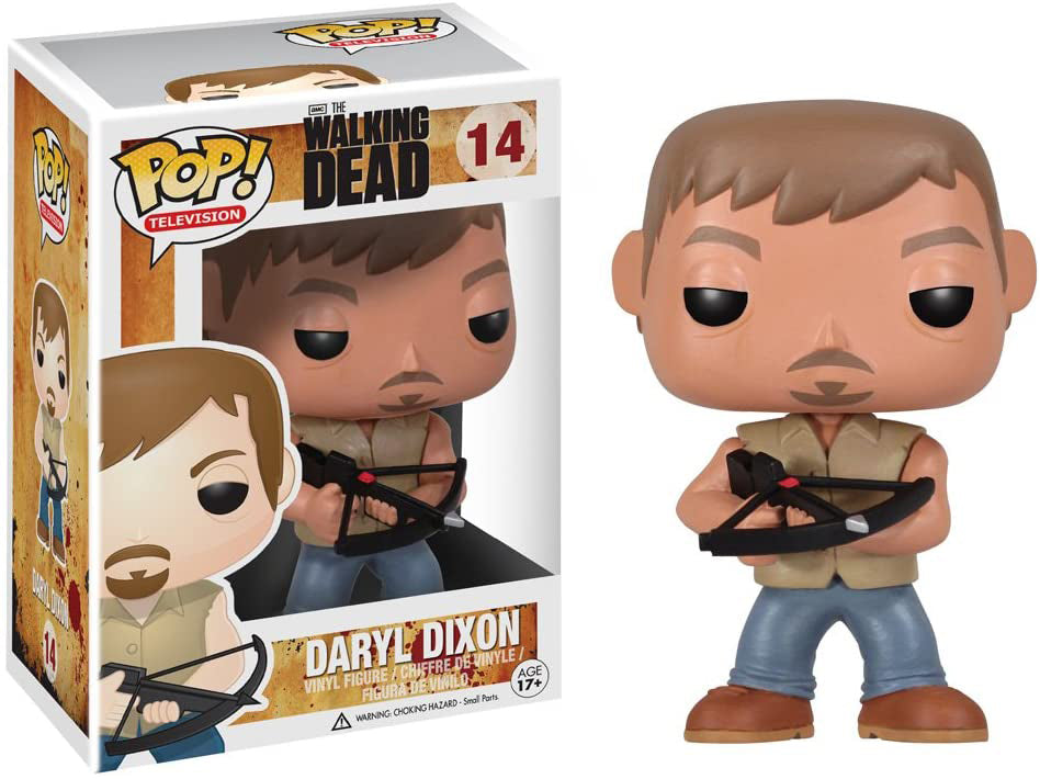Pop Television The Walking Dead 3.75 Inch Action Figure - Daryl Dixon #14
