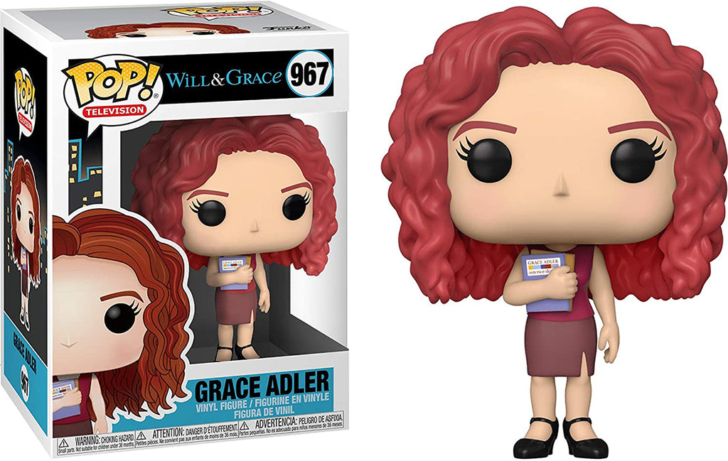 Pop Television Will & Grace 3.75 Inch Action Figure - Grace Adler #967