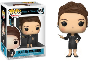Pop Television Will & Grace 3.75 Inch Action Figure - Karen Walker #968