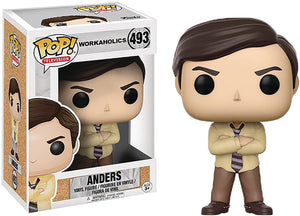 Pop Television Workaholics 3.75 Inch Action Figure - Anders #493