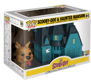 Pop Town 3.75 Inch Action Figure Scooby-Doo - Scooby-Doo & Haunted Mansion #01