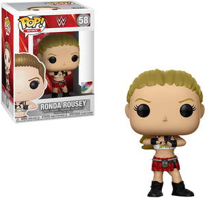 Pop WWE 3.75 Inch Action Figure  - Ronda Rousey #58