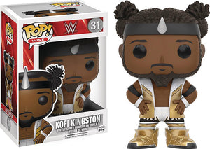 Pop WWE Wrestling 3.75 Inch Action Figure - Kofi Kingston #31