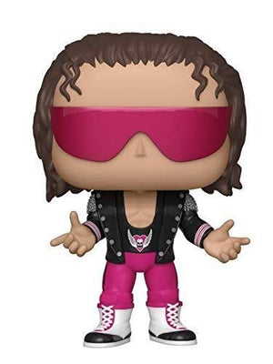 Pop WWE 3.75 Inch Action Figure WWE - Bret Hart with Jacket