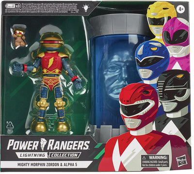 Power Rangers Lightning Collection 6 Inch Action Figure 2-Pack Exclusive - Zordon and Alpha 5