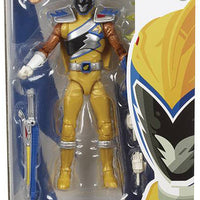 Power Rangers 6 Inch Action Figure Lightning Collection - Dino Charge Gold Ranger