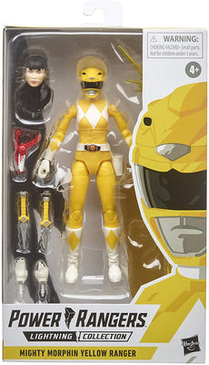 Power Rangers 6 Inch Action Figure Lightning Collection - Yellow Ranger Classic