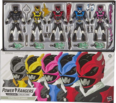 Power Rangers Lightning Collection 6 Inch Action Figure Box Set Exclusive - Space Psycho Rangers 5-Pack