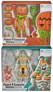 Power Rangers Lightning Collection 6 Inch Action Figure Wave 1 Deluxe - Set of 2 (King Sphinx - Pumpkin Rapper)