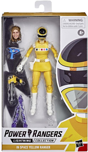 Power Rangers Lightning Collection 6 Inch Action Figure Wave 6 - Space Yellow Ranger