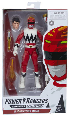 Power Rangers Lightning Collection 6 Inch Action Figure Wave 8 - Lost Galaxy Red Ranger