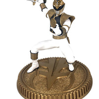 Power Rangers PVC 8 Inch Statue Figure 1/8 Scale - White Ranger