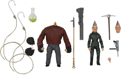 Puppet Master 4 Inch Action Figure Ultimate 2-Pack - Pinhead & Tunneler