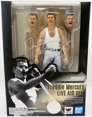 Queen 6 Inch Action Figure S.H. Figuarts - Freddy Mercury Live Aid