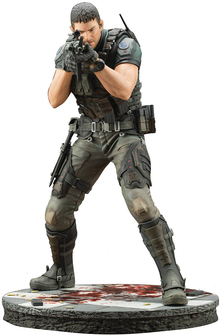 Resident Evil Vendetta 12 Inch Statue Figure Artfx Series - Chris Redfield