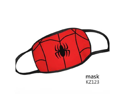 Reusable Washable Face Mask Marvel Comics Spider-Man Adult Size Mask - Spiderman Logo