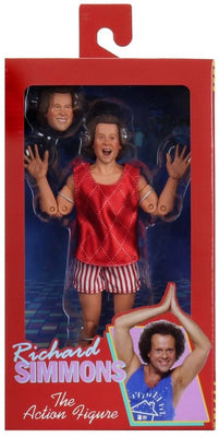 Richard Simmon 8 Inch Action Figure Retro Doll Series - Richard Simmon