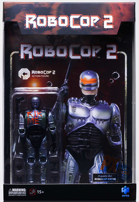 Robocop 2 1/18 Scale 4 Inch Action Figure SDCC 2020 - Kick Me Robocop
