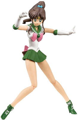 Sailor Moon Pretty Guardian 6 Inch Action Figure SH Figuarts - Sailor Jupiter Animation Color Edition