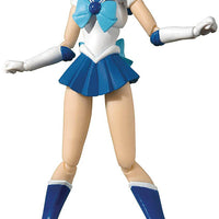 Sailor Moon Pretty Guardian 6 Inch Action Figure S.H. Figuarts - Sailor Mercury Animation Color Edition