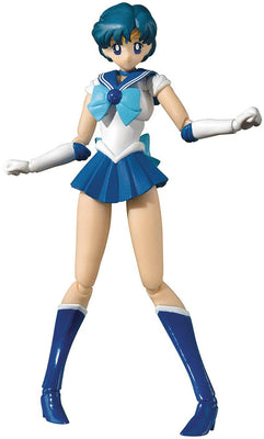 Sailor Moon Pretty Guardian 6 Inch Action Figure SH Figuarts - Sailor Mercury Animation Color Edition