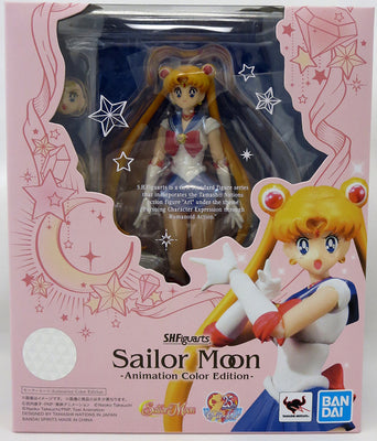 Sailor Moon Pretty Guardian 6 Inch Action Figure S.H. Figuarts - Sailor Moon Animation Color Edition