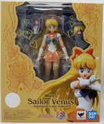 Sailor Moon Pretty Guardian 6 Inch Action Figure S.H. Figuarts - Sailor Venus Animation Color Edition
