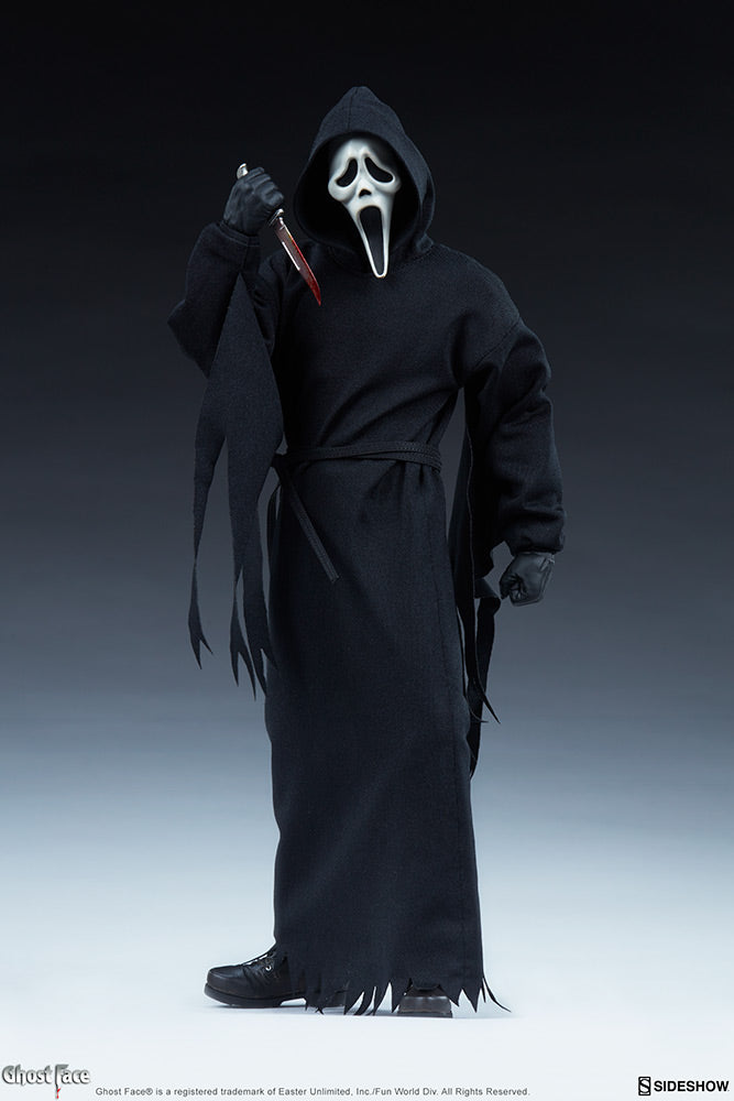 Scream 12 Inch Action Figure 1/6 Scale - Ghost Face Sideshow 100447