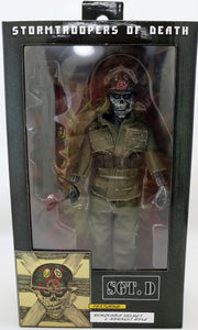 S.O.D. 8 Inch Action Figure Retro Clothed Series - Sgt of Death