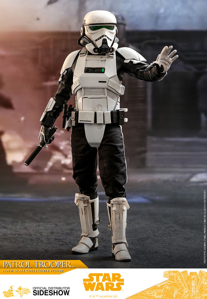 Solo: A Star Wars Story 12 Inch Action Figure Movie Masterpiece 1/6 Scale Series - Patrol Trooper Hot Toys 903646