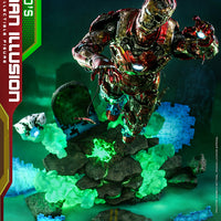 Spider-Man Far From Home 12 Inch Action Figure 1/6 Scale Series - Mysterio's Iron Man Illusion Hot Toys 906794