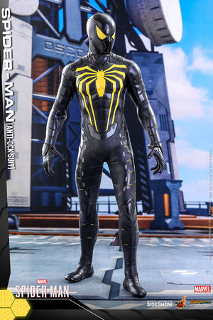 Spider-Man Video Game 12 Inch Action Figure 1/6 Scale - Spider-Man (Anti-Ock Suit) Hot Toys 907092