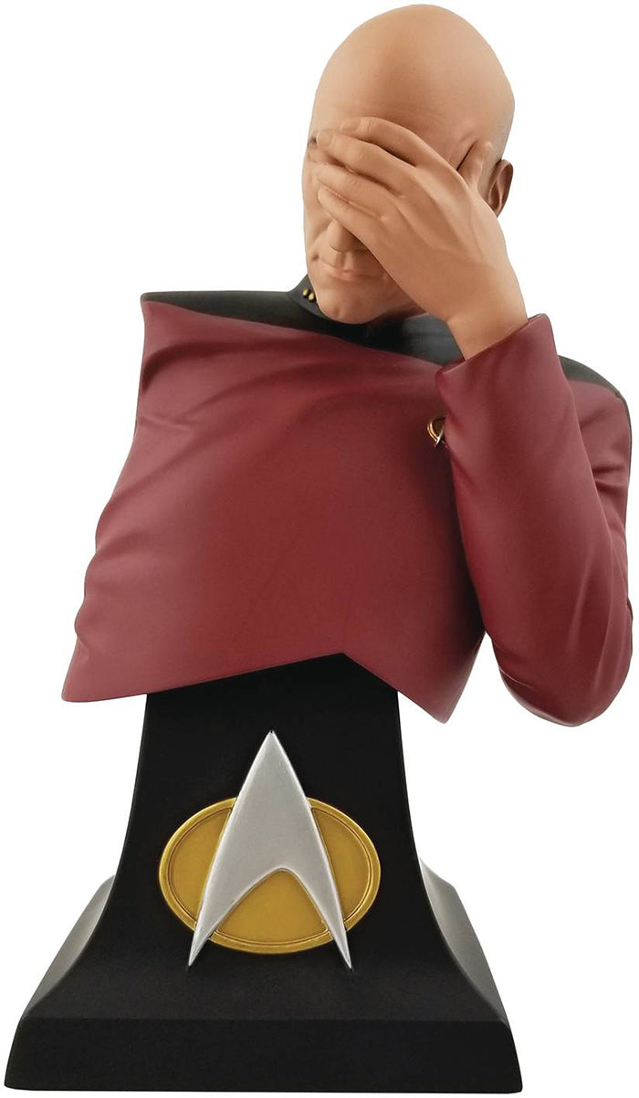 Star Trek The Next Generation 8 Inch Bust Statue SDCC 2020 Exclusive - Facepalm Picard