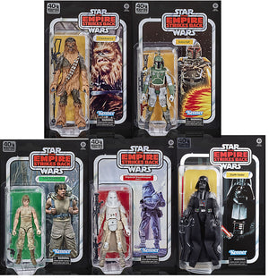Star Wars 40th Anniversary 6 Inch Action Figure (2020 Wave 3) - Set of 5