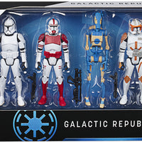 Star Wars Celebrate The Saga 3.75 Inch Action Figure Box Set - Galactic Republic Troopers 5 Pack