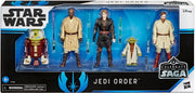 Star Wars Celebrate The Saga 3.75 Inch Action Figure Box Set - Jedi Order Pack