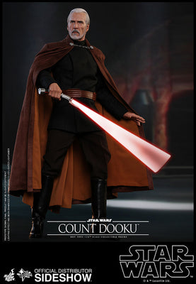 Star Wars Ep II: Attack of the Clones 13 Inch Figure Movie Masterpiece 1/6 Scale Series - Count Dooku Hot Toys 903655