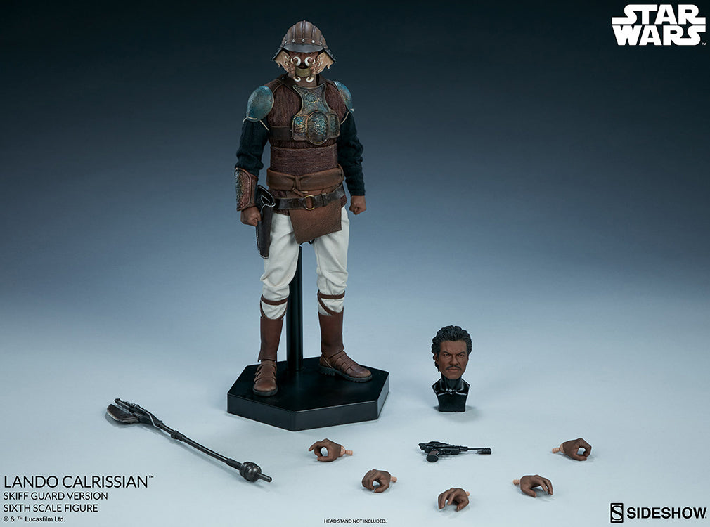 Star Wars Return Of The Jedi 12 Inch Figure 1/6 Scale Series - Lando Calrissian (Skiff Guard Version) Sideshow 100429