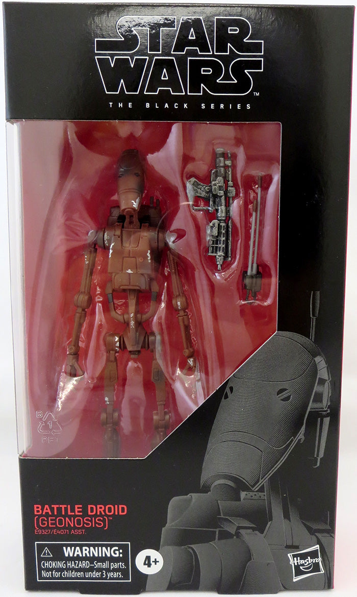 Star Wars The Black Series 6 Inch Action Figure Wave 36 - Battle Droid #108