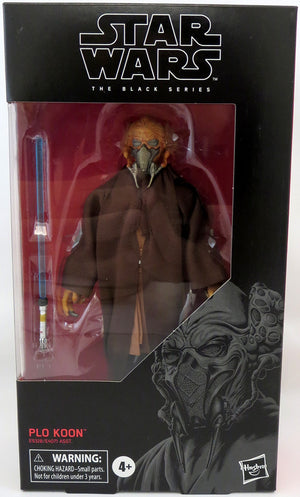 Star Wars The Black Series 6 Inch Action Figure Wave 36 - Plo Koon #109