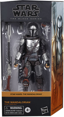Star Wars The Black Series Box Art 6 Inch Action Figure Wave 1 Orange - The Mandalorian #01