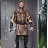 Star Wars The Black Series Box Art 6 Inch Action Figure Wave 2 Green - Luke Skywalker Endor
